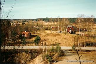 Photo: Dammen vy från Åsbacken år 2000