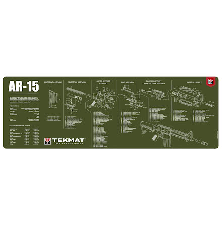 TekMat AR-15 Olive Drab