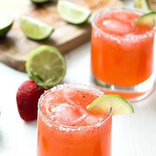 Strawberry Margarita With Limeade Recipes
