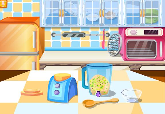 strawberry cake cooking games - screenshot