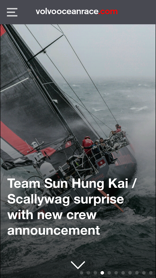 Volvo Ocean Race- screenshot