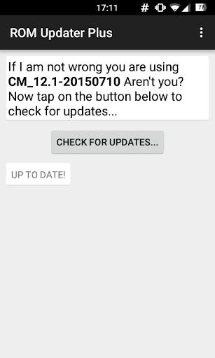 ROM Updater Plus