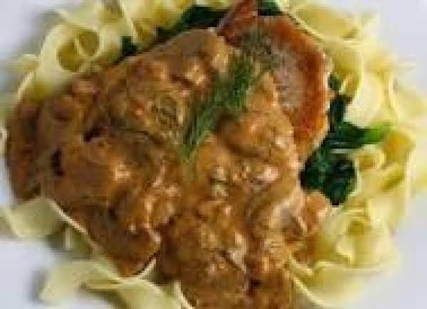 Bavarian Pork Chops Recipe