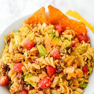 Easy Taco Pasta Salad.