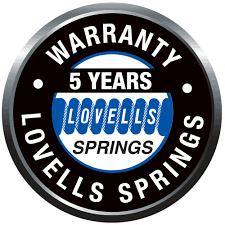 lovells 5 years warranty