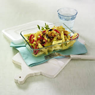 Peppers and Pasta Salad.