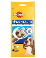 Pedigree Dentastix Disp 180 g