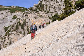 Photo: Vysokohorská turistika v pohoří Raxalpe v rakouských Alpách (den 2 - sobota 5. říjen 2013).