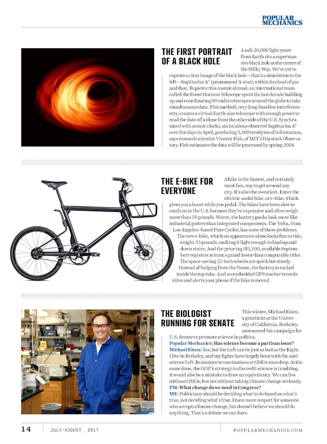 Popular Mechanics Magazine- screenshot