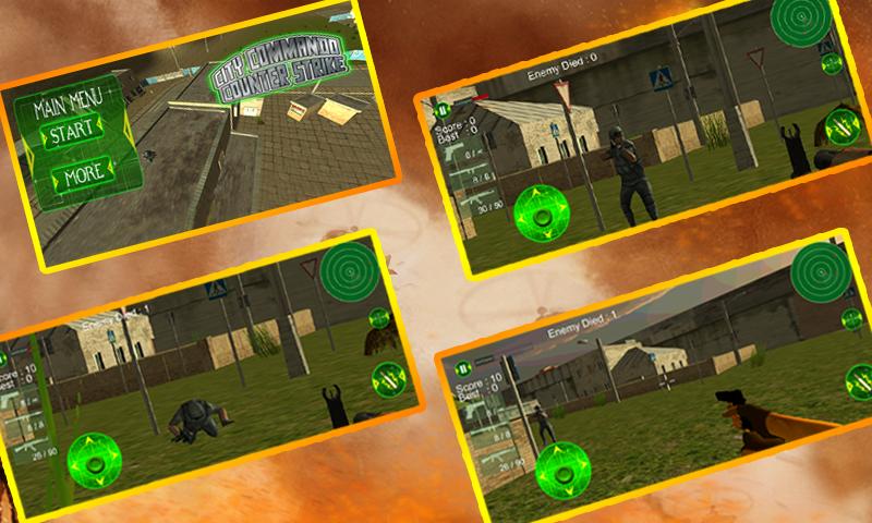 android City Commando Counter Strike Screenshot 5