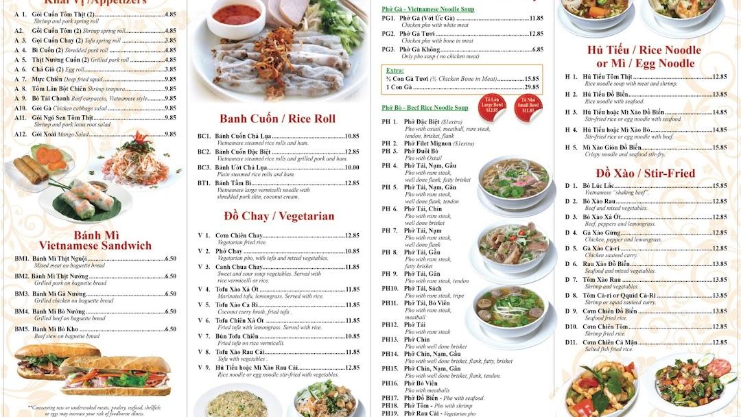Pho Times Vietnamese Restaurant In Edison