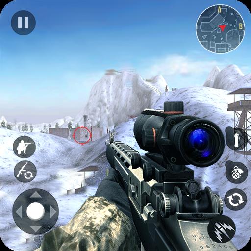 Winter Mountain Sniper - Modern Shooter Combat APK Cracked Download