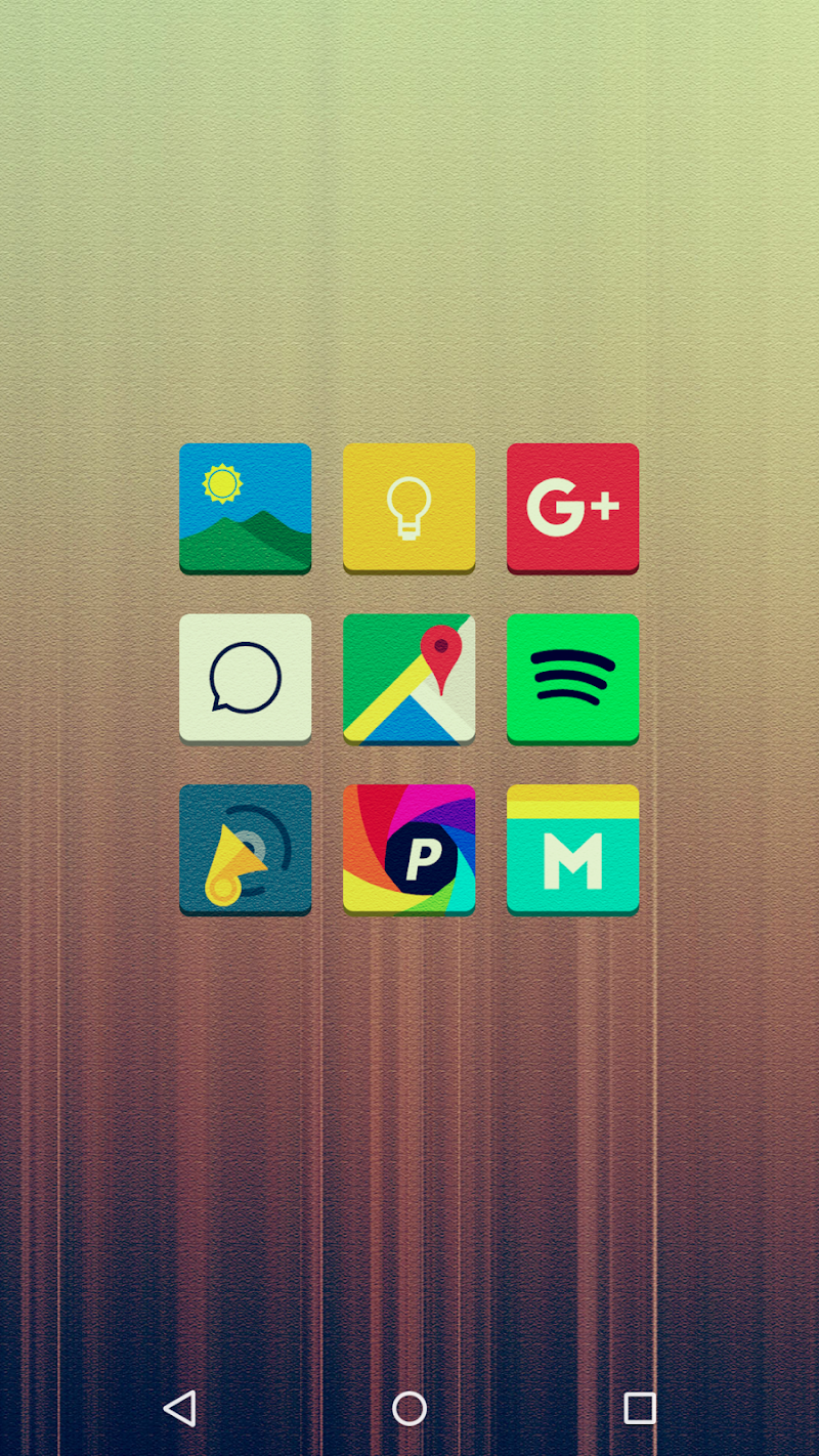 Tenex - Icon Pack Screenshot 1