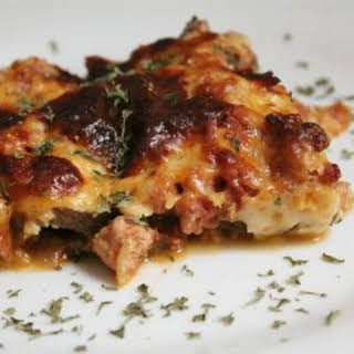 Moussaka (Greek Eggplant Casserole).