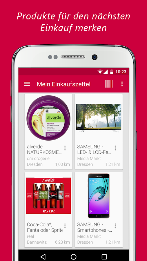 barcode app deutsch