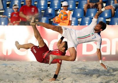 Winnaar EK strandvoetbal is bekend