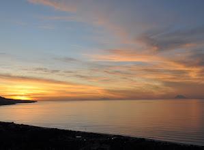 Photo: Zambrone,Calabria,Italy - Tramonto sulla Baia con Isole Eolie (Sicilia).