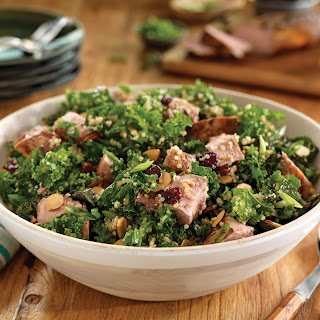 Pork Quinoa Salad with Cherries and Balsamic.