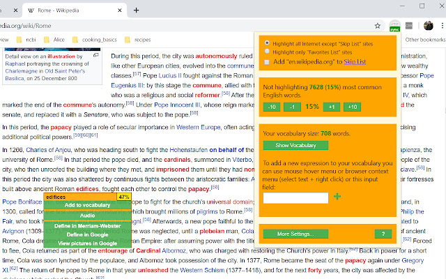 Word Discoverer: Expand your vocabulary