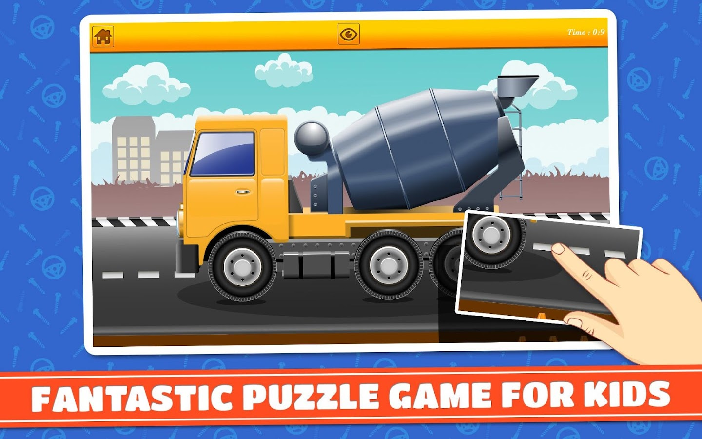 construction vehicles puzzle android apps on google play