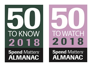 Dhatim named a Spend matters  Vendor To Watch 2018
