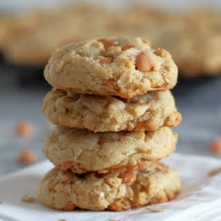 Soft Oatmeal Scotchies Cookies.