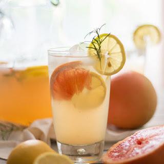 Grapefruit Rosemary Lemonade.