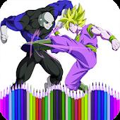 Tải Coloring Dragon DBS miễn phí