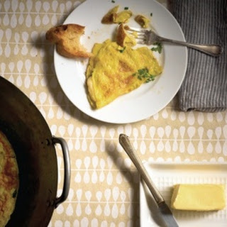Brie and Chive Omelet.