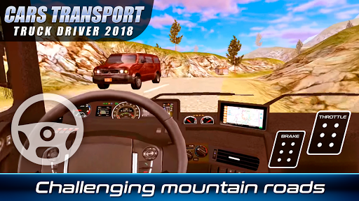 Download Cars Transport Truck Driver 2018 MOD APK 3