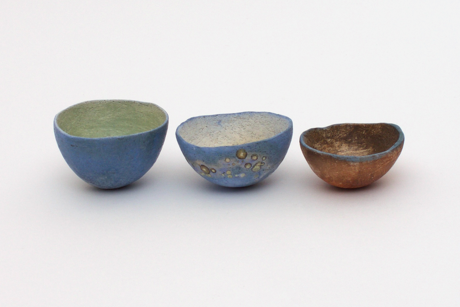 Elspeth Owen Three Small Ceramic Bowls