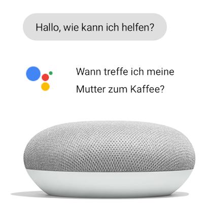 Google Home Mini und Google Assistant