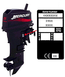 evinrude serial number search