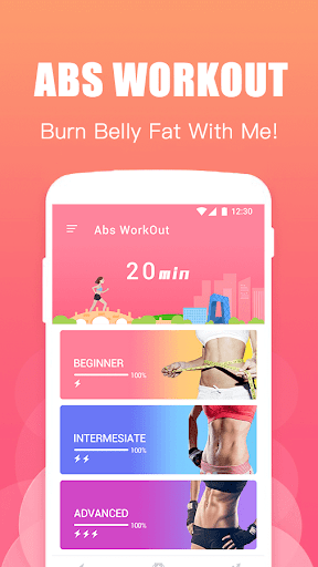 Abs Training-Burn belly fat 1.2.2 app download 2