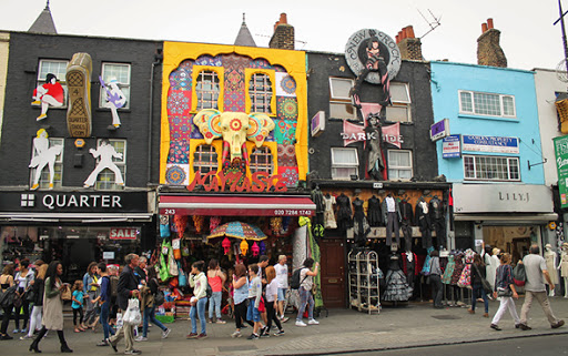 camden shopping area