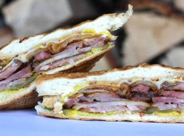 Smoked Cuban Sandwich Recipe
