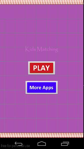 Kids Matching