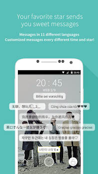 Mydol- Virtual chat, Fanletter