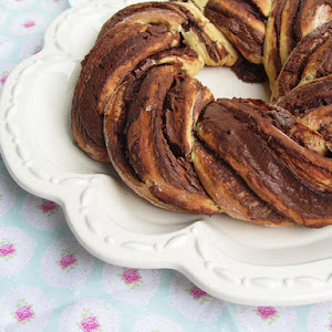 Nutella and Clementine Bread Crown