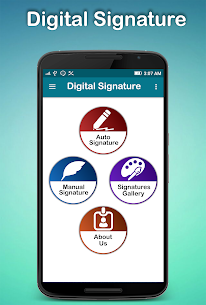 Digital Signature : E-Signature 9.7 APK with Mod + Data 1