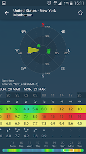 WINDY: NOAA wind forecast app- screenshot thumbnail