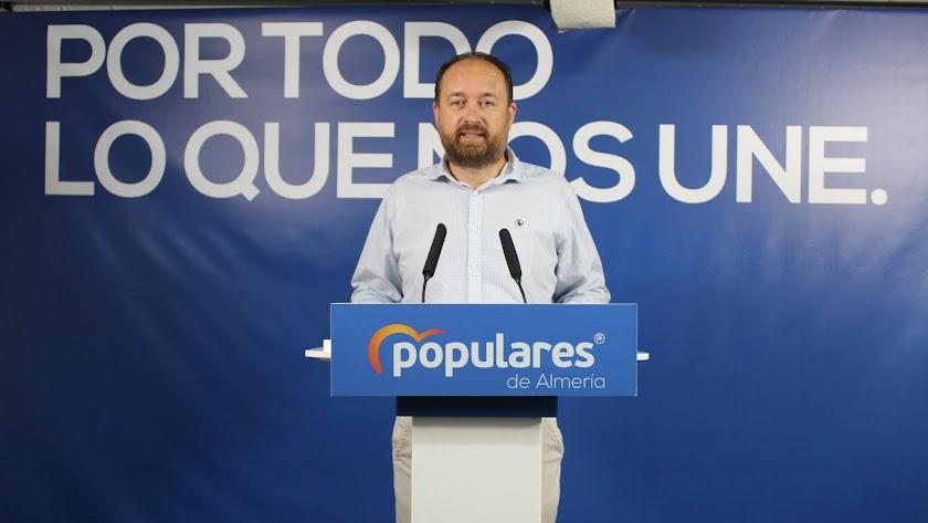 Ramón Herrera, parlamentario andaluz del PP.