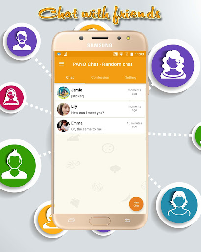 PANO Chat - Random chat with stranger & Video call 4.0 screenshots 13