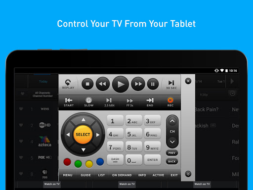 DIRECTV for Tablets 5.8.005 screenshots 5