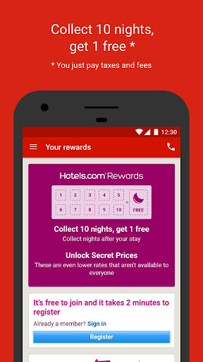 Hotels.com – Hotel Reservation Screenshot