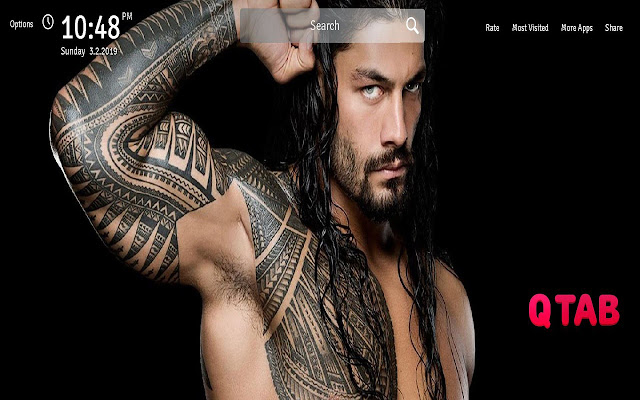 Roman Reigns Wallpapers New Tab