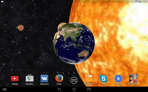 Solar System 3D Free Live Wallpaper 8