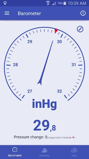 Barometer & Altimeter screenshot 2