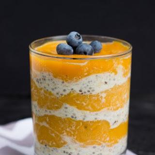 Mango & Overnight Quinoa Flakes Parfait Recipe