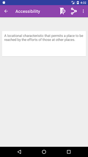 Screenshot 3 Geography Dictionary